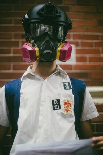 Hong Kong Boy Protester
