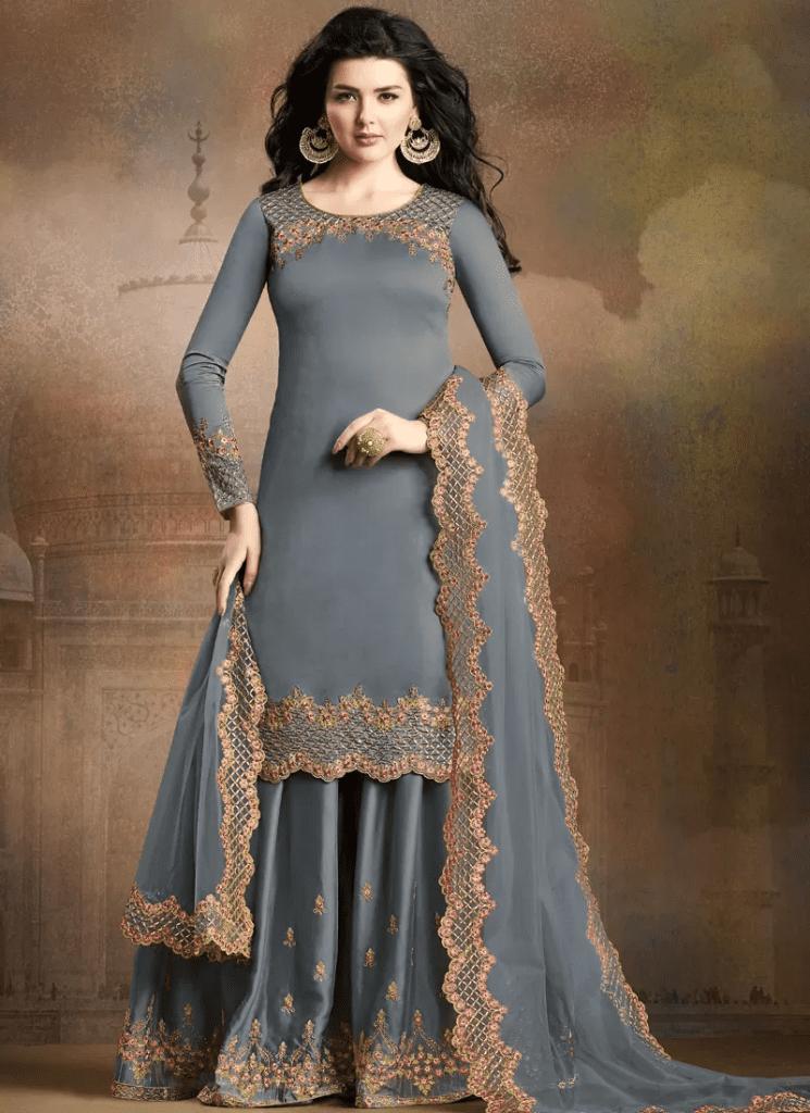 Latest Silk Dress